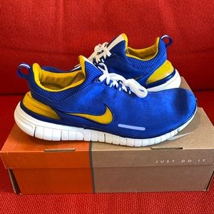 Nike Free 5.0: Blue/Yellow